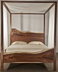solid wood bed frame u2013 wood species pros and cons and design ideas