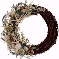 56 best wreaths images on shells wreaths and