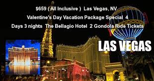 all inclusive las vegas nv s day vacation package