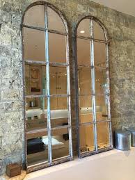 arched architectural reclaimed window mirrors arched window
