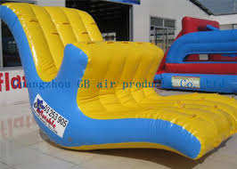 lake toys for adults inflatable water game water seesaw toys moving up and down in lake