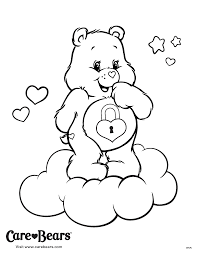 care bears coloring pages coloring pages pinterest care