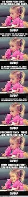 Dafuq Girl Meme - komplikasi meme dafuq little girl 1cak for fun only
