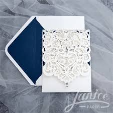 wedding invitation pocket envelopes wholesale laser cut wedding invites