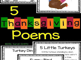 5 thanksgiving poems for by sgriffink teaching resources tes