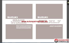 suzuki tis manual full cd auto repair manual forum heavy