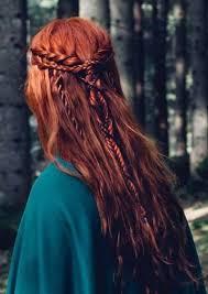 celtic warrior hair braids elvish braided hairstyle die schulterranken aus draht und lack