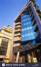 Modern Buildings Modern Buildings Residency Road Bangalore Karnataka India Stock