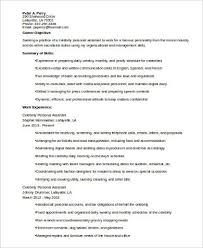 Sample Resume Personal Assistant by Resume Sample Personal Biography Resume Personal Resume Templates