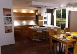 open kitchen design with island model information about home