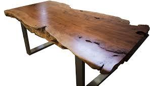 Esszimmertisch Holz Esstisch Aus Einem Baumstamm Der Tischonkel