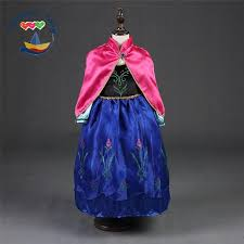 Halloween Prom Costumes Discount Frozen Anna Girls Dress Halloween Custom Anna Dresses