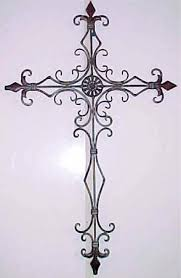 wall decor crosses decorative metal wall crosses wall decor home accents scrolled
