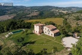 traditional farmhouse with pool for sale in todi
