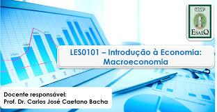 curso les 101 introdução à economia economia e administração