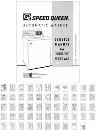 washer dryer library 1964 speed queen automatic washer service manual