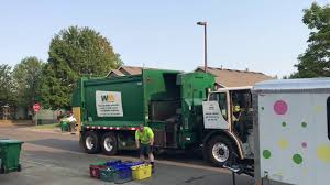 cart lines at northwest garbage truck u0027s house youtube