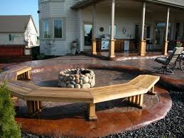 Backyard Ideas Patio by Concrete Backyard Ideas Best 25 Recycled Concrete Ideas On