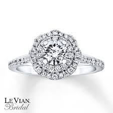 levian engagement rings le vian engagement ring 7 8 ct tw diamonds 14k white gold