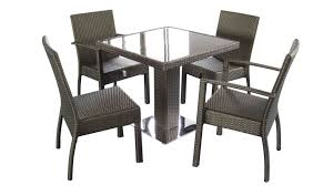 fascinating wicker rattan outdoor dining table and furniture chair