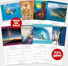 calendars for sale hawaiian calendars 2016 deluxe wall hawaii calendars island