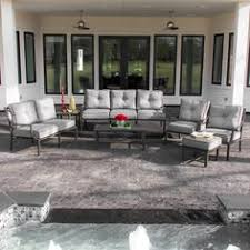 Lakeview Patio Furniture by Costco Travers 7 Piece Deep Seating Set Dinners Etc Pinterest