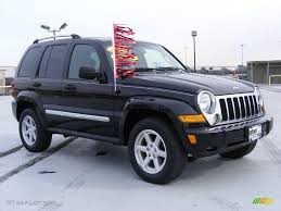 liberty jeep 2007 2007 black clearcoat jeep liberty limited 4x4 25415204 photo 3