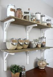 Open Shelves Kitchen Open Shelving Kitchen Pantry Diyideacenter Com