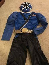 Power Rangers Samurai Halloween Costumes Power Rangers Halloween Costumes Boys Ebay
