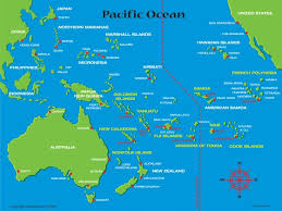 map samoa samoa island map map of the islands showing hotel locations
