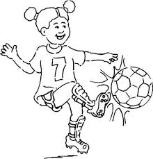 Soccer Coloring Pages Girl Football Coloring Pages Girls Soccer Coloring Page