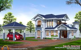 Hillside House Plans With Garage Underneath July 2015 Kerala Home Design And Floor Plans