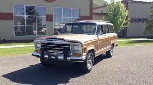 wagoneer jeep 2015 walkaround 1990 jeep grand wagoneer sold at the sun valley auto