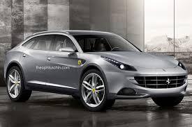 ferrari minivan ferrari suv production confirmed still several years away