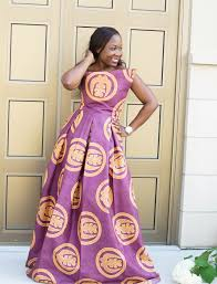 ghana chitenge dresses instagram theonlyskinnybish purple cloth with adinkra gye nyame