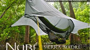 nubé the perfected hammock shelter by sierra madre research by
