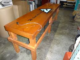 Custom Beer Pong Tables by Fraternity Beer Pong Table 2x8 Solid Frame With Keg Tap And Leds