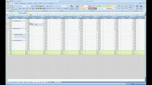 How To Complete A Spreadsheet Example Of A Spreadsheet With Excel Teerve Sheet