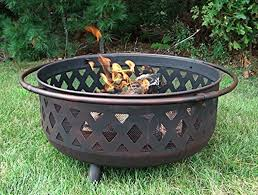 Large Firepit Large Wood Burning Pit Decoration Allthingschula