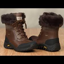 ugg s adirondack boot ii leather 67 ugg boots brown on brown ugg adirondack ii boot from
