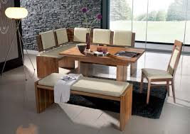 Bench Style Kitchen Tables Bathroom Faucet And Ideas Of With - Bench style kitchen table