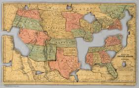 Picture Of A Map Of The United States by Map Of The United States And Canada David Rumsey Historical Map