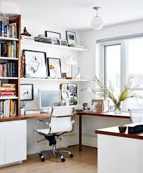 decorate office shelves home office shelving ideas