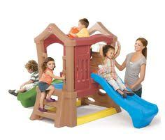 Backyard Toddler Toys Step2 Clubhouse Climber Clubhouses Toy And Outdoor Play