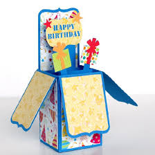 create this fun happy birthday box card with my tips and tricks to