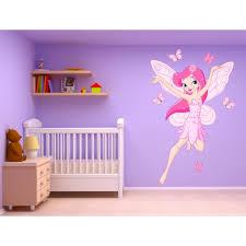 stickers papillon chambre bebe stickers fille fée et papillons