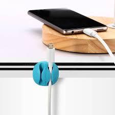 Cable Organizer Desk by Blitzwolf Bw Pm1 6pcs Tpu Multipurpose Cable Clip Cord Management