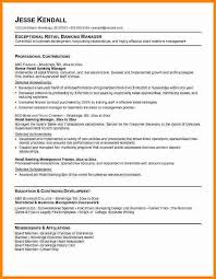 retail banking resume sample resume sample banking resumes in