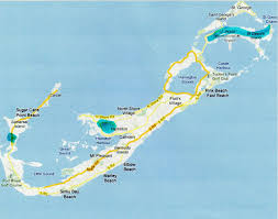 Bermuda Triangle Map Bermuda Sights