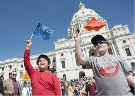 Minnesota where to travel in march images Thousands join march for science in st paul minnesota public jpg